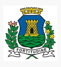The Coat of Arms of Fortaleza Photographic Print