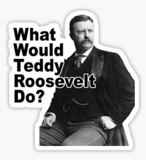What Would Theodore Roosevelt Do? Sticker