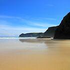 Tolsta Beach at Midday - Western Isles by Kathryn Jones