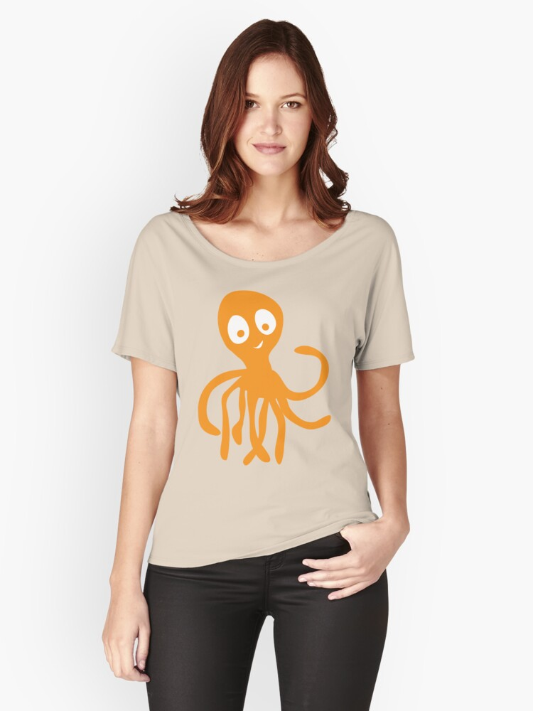 Octopus Women's Relaxed Fit T-Shirt Front