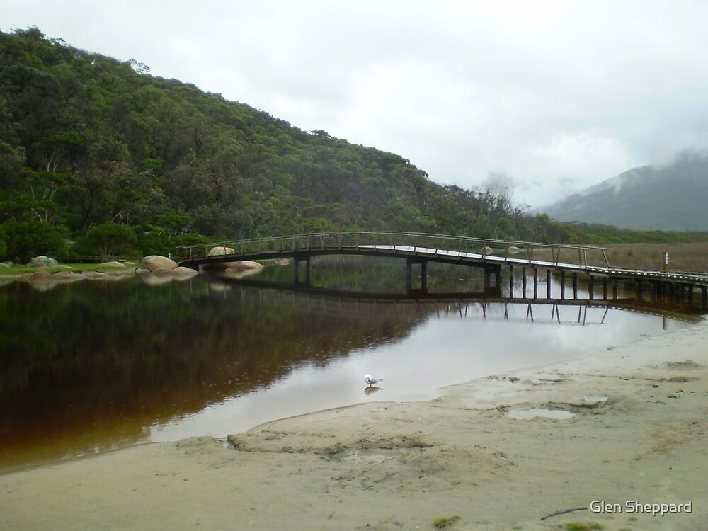 Tidal River Footbridge, Wilsons Promontory NP by Glen Sheppard