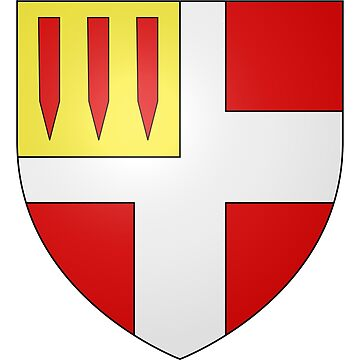 French France Coat of Arms 17740 Blason Murville by wetdryvac
