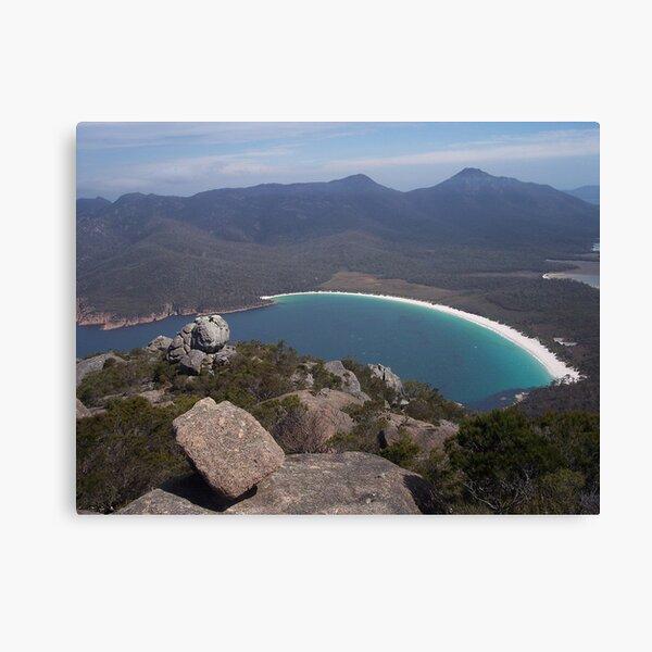 Wineglass Bay, Tasmania Canvas Print