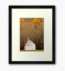 lords voice Framed Print