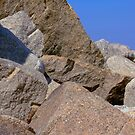 Rocks At DúnLaoghaire by Orla Cahill Photography