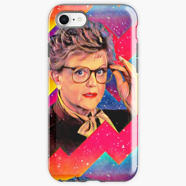 Yas to the Queen Jessica Fletcher iPhone Tough Case
