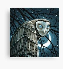 Moon Seer Canvas Print