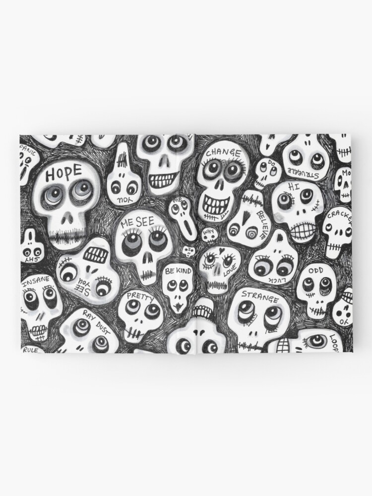 Alternate view of The Skull People Hardcover Journal