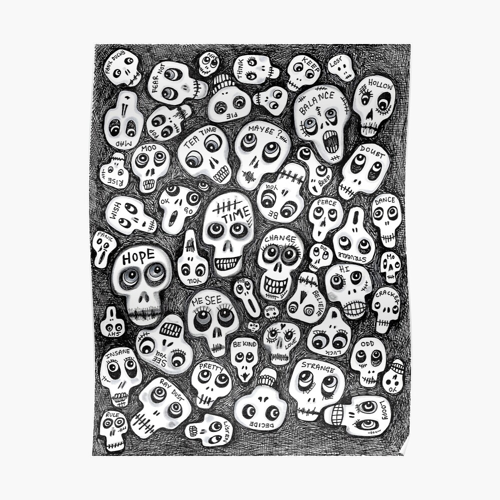 The Skull People Poster