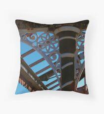Wrought Iron Decorative Detail Throw Pillow
