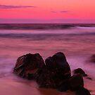 Stoney Beach Sunset by Melanie Roberts