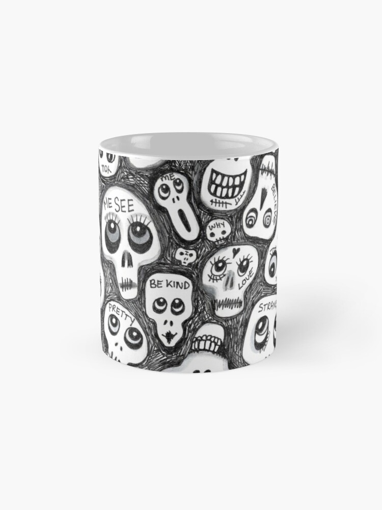 Alternate view of The Skull People Mug