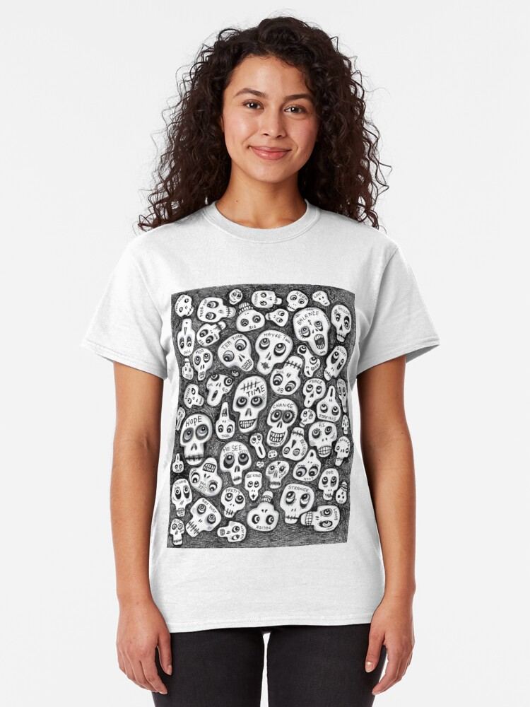 Alternate view of The Skull People Classic T-Shirt