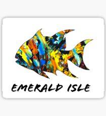 Emerald Isle Spadefish  Sticker