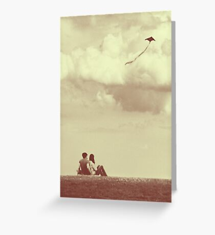 I Had A Dream I Could Fly From the Highest Swing Greeting Card