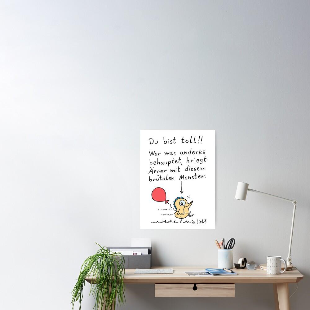 Du bist toll! Poster
