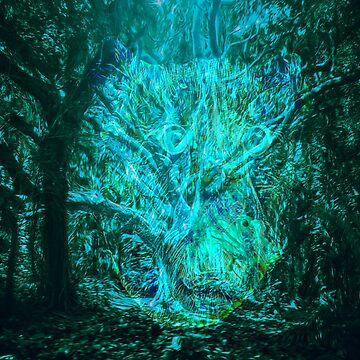 Forbidden Forest by sandywv