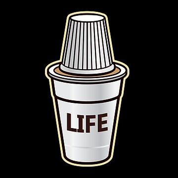 'Cuban Cafecito' Cool Cuban Coffee Life Gift by leyogi