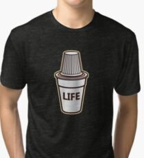 'Cuban Cafecito' Cool Cuban Coffee Life Gift Tri-blend T-Shirt