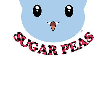 Sugar Peas! by benchwench