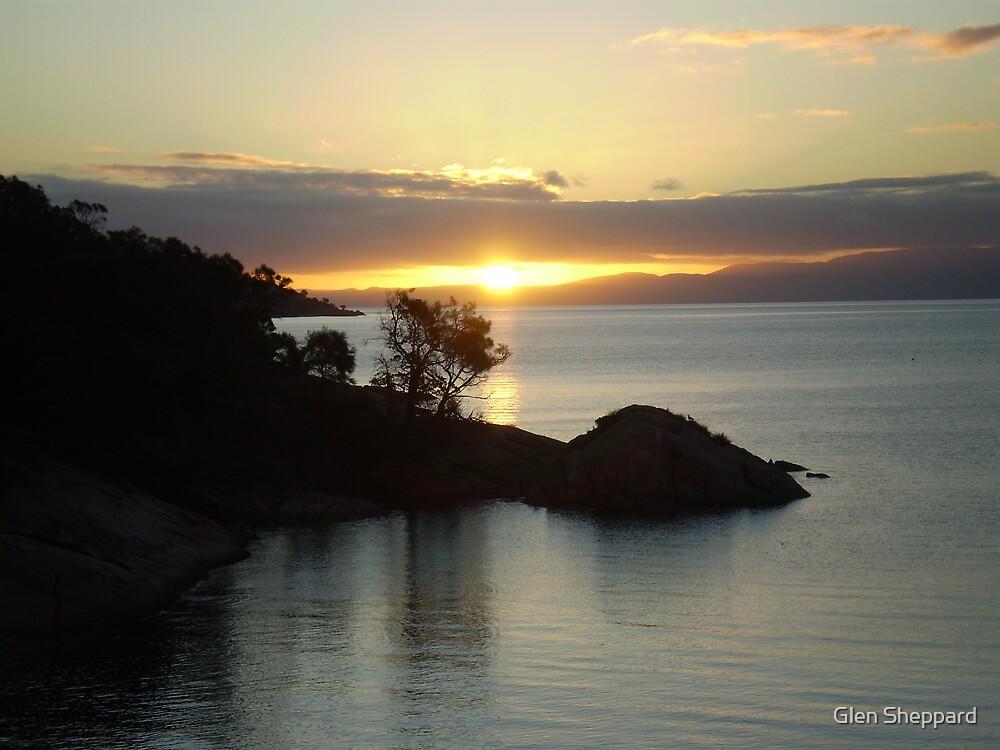 Freycinet Sunset by Glen Sheppard