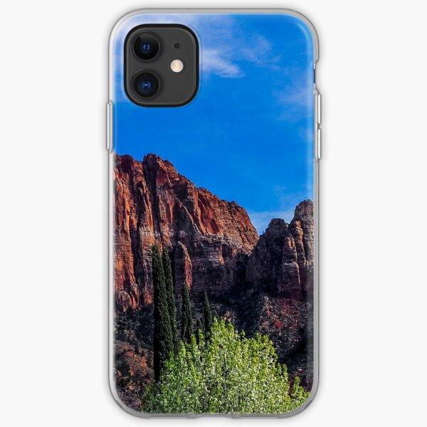Zion National Park - The Altar of Sacrifice iPhone Soft Case