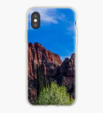 Zion National Park - The Altar of Sacrifice iPhone Case