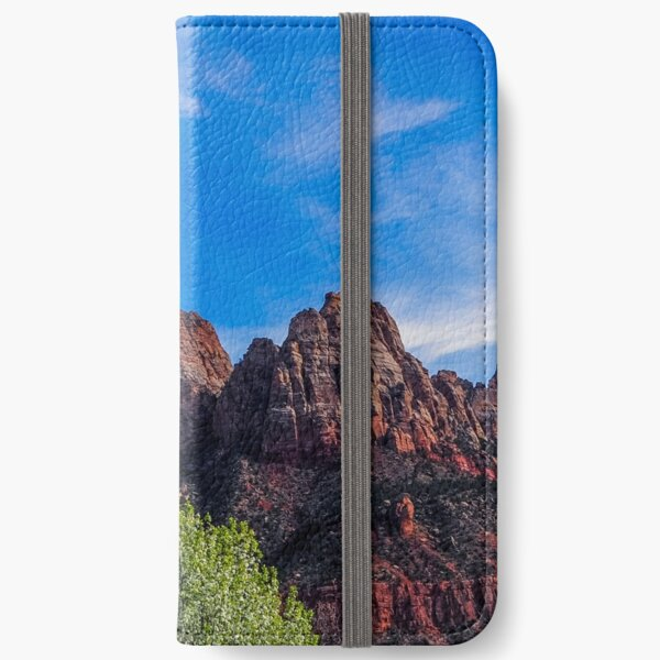 Zion National Park - The Altar of Sacrifice iPhone Wallet