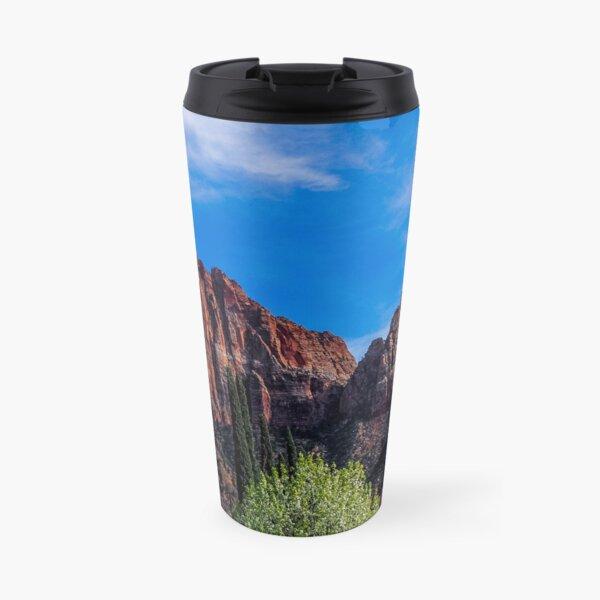 Zion National Park - The Altar of Sacrifice Travel Mug