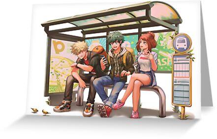 «Parada de autobús» de Kimopoleis