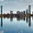 Boston Skyline by Michelle Callahan