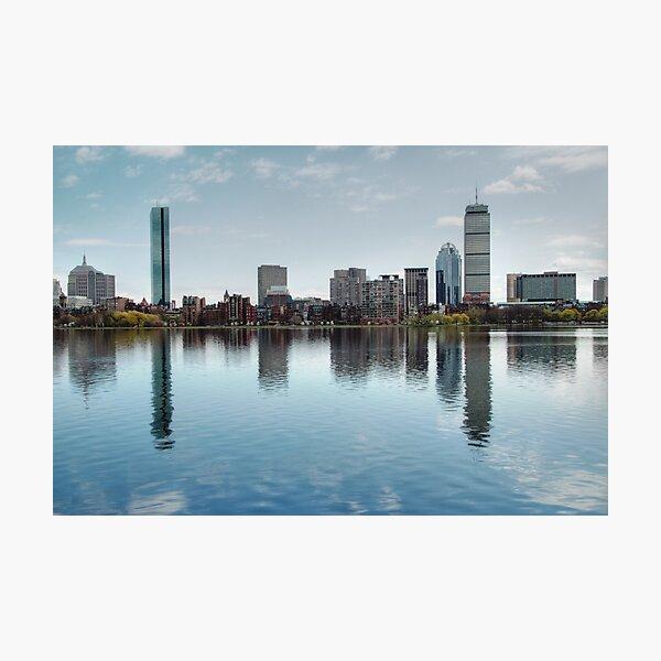 Boston Skyline from John Hancock to Prudential Photographic Print