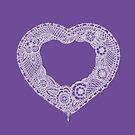 Lace heart  by Sarah Trett