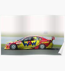 14- V8 supercar Bathurst Poster