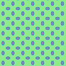 Brights and Green Pattern by Betty Mackey
