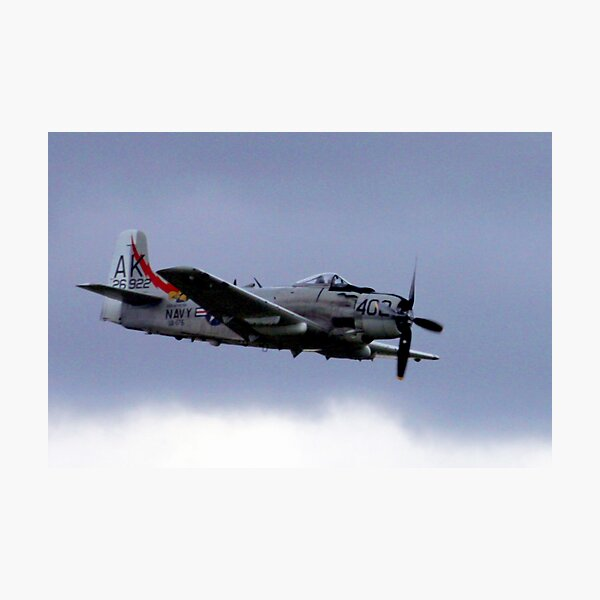 Skyraider! Photographic Print