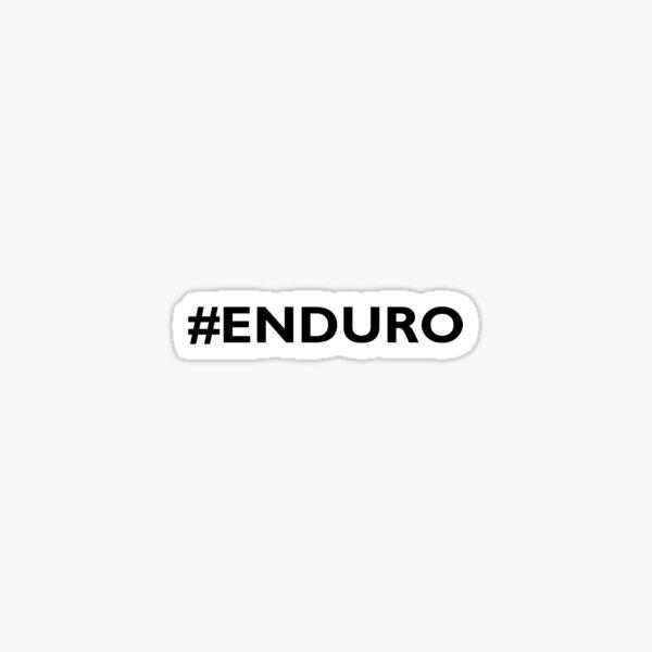 Hashtag Enduro Sticker
