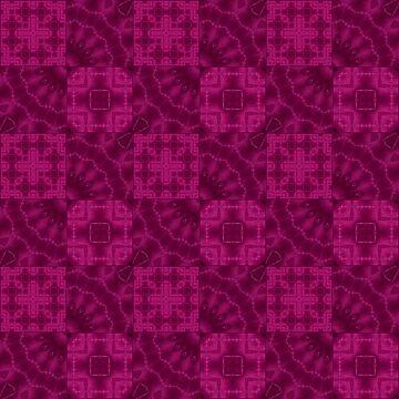 Crimson patchwork by fuzzyfox
