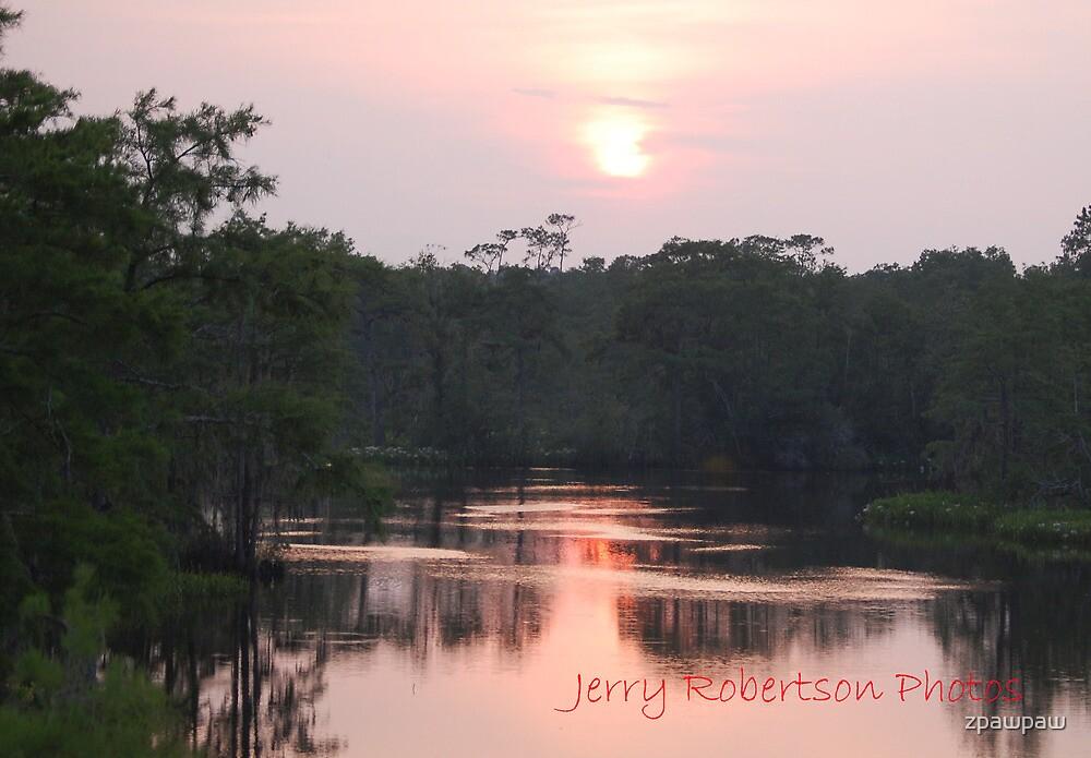 A Rattlesnake Bayou sunset by zpawpaw