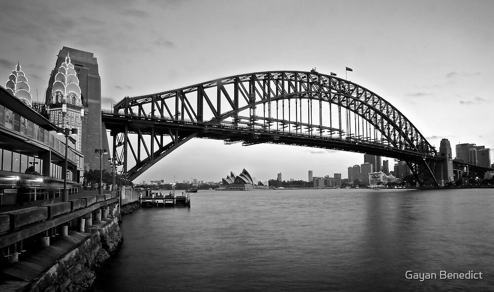 Icelight - Harbour Bridge by Gayan Benedict