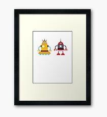 robot love in color Framed Print