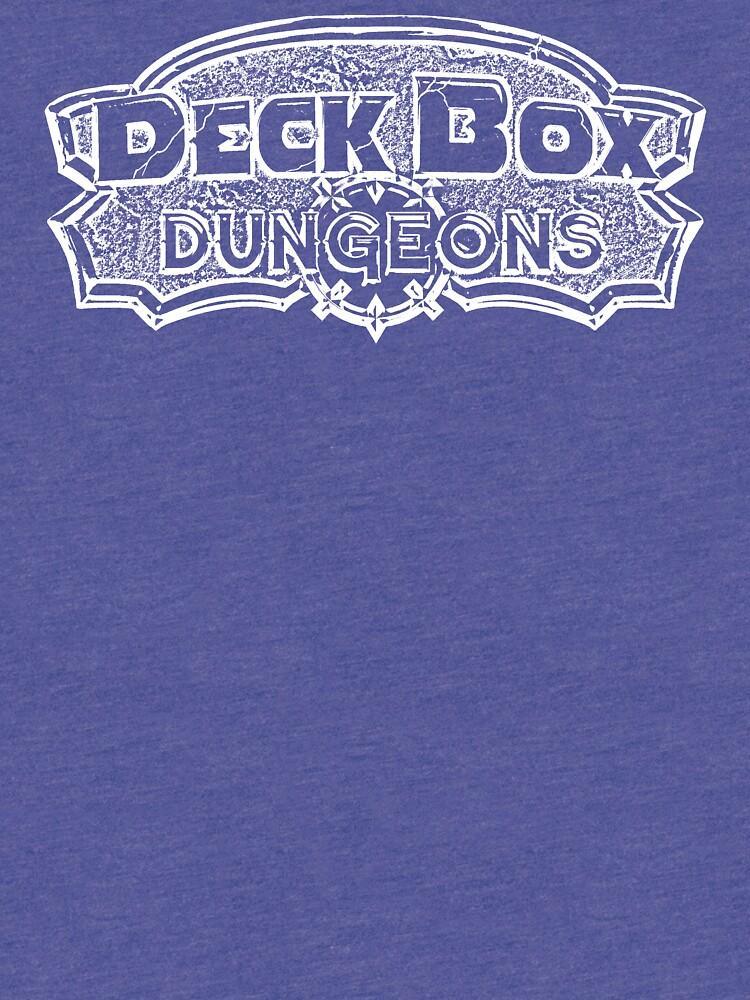 Deck Box Dungeons B/W Logo by ariahstudios