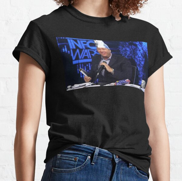 Alex Jones Tin Foil Hat Classic T-Shirt