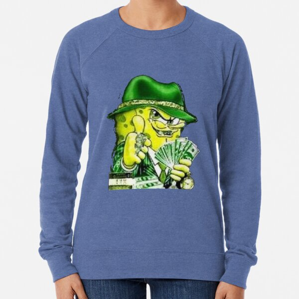 Gangster Spongebob Lightweight Sweatshirt