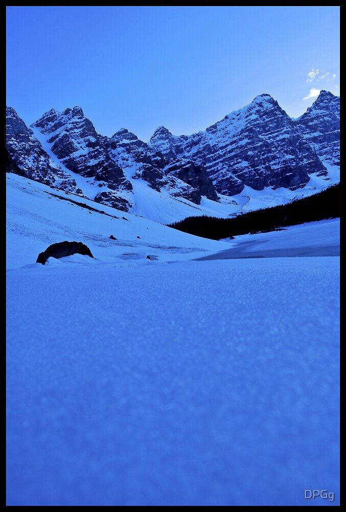 Winter Paradise - Moraine Lake, Alberta by DPGg