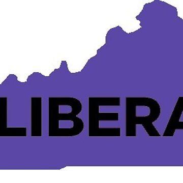 Liberal  Kentucky - purple by wokesouth