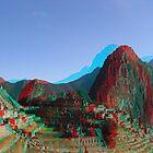 Machu Picchu 3D by Andreas Altmann