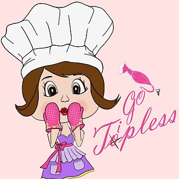 Tipless Baking T-Shirt by CatTail