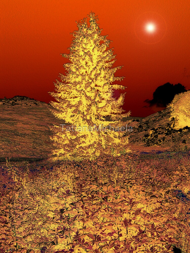 RED NIGHT by TatianaMichaela