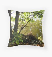 By The Seine Throw Pillow